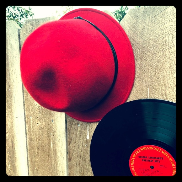 d94dd2d37 100% Wool Red Bucket Hat Boutique